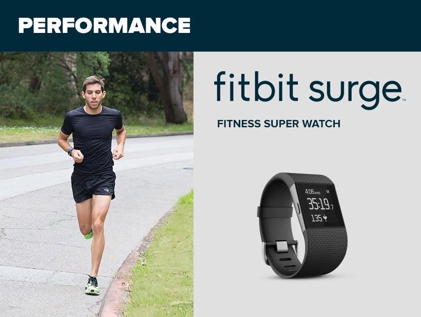fitbit surge performancewristband