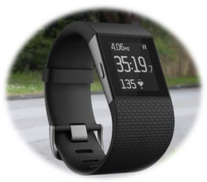 fitbit surge wristband , fitness band